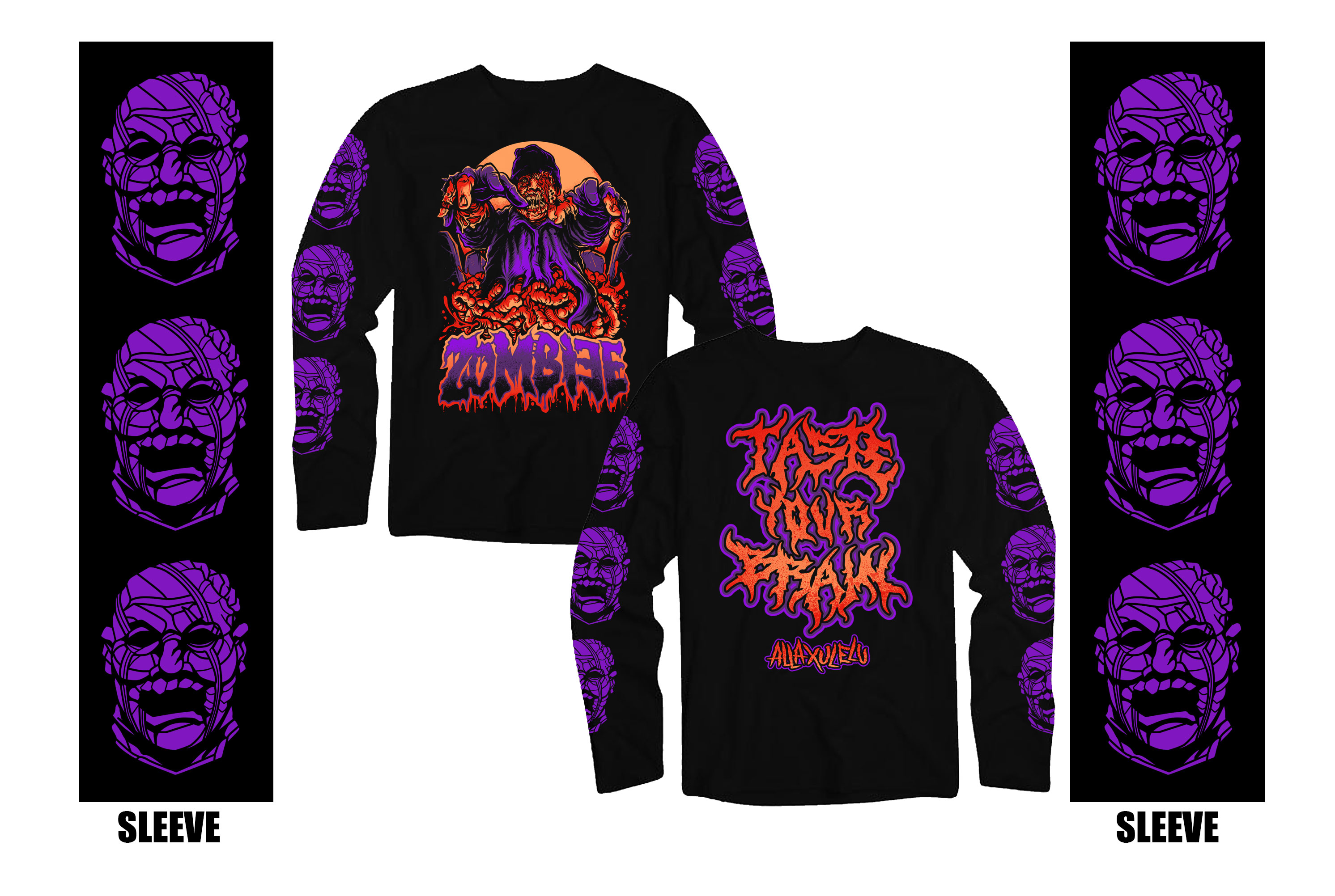 AXE Taste Your Brain Long Sleeve Shirt