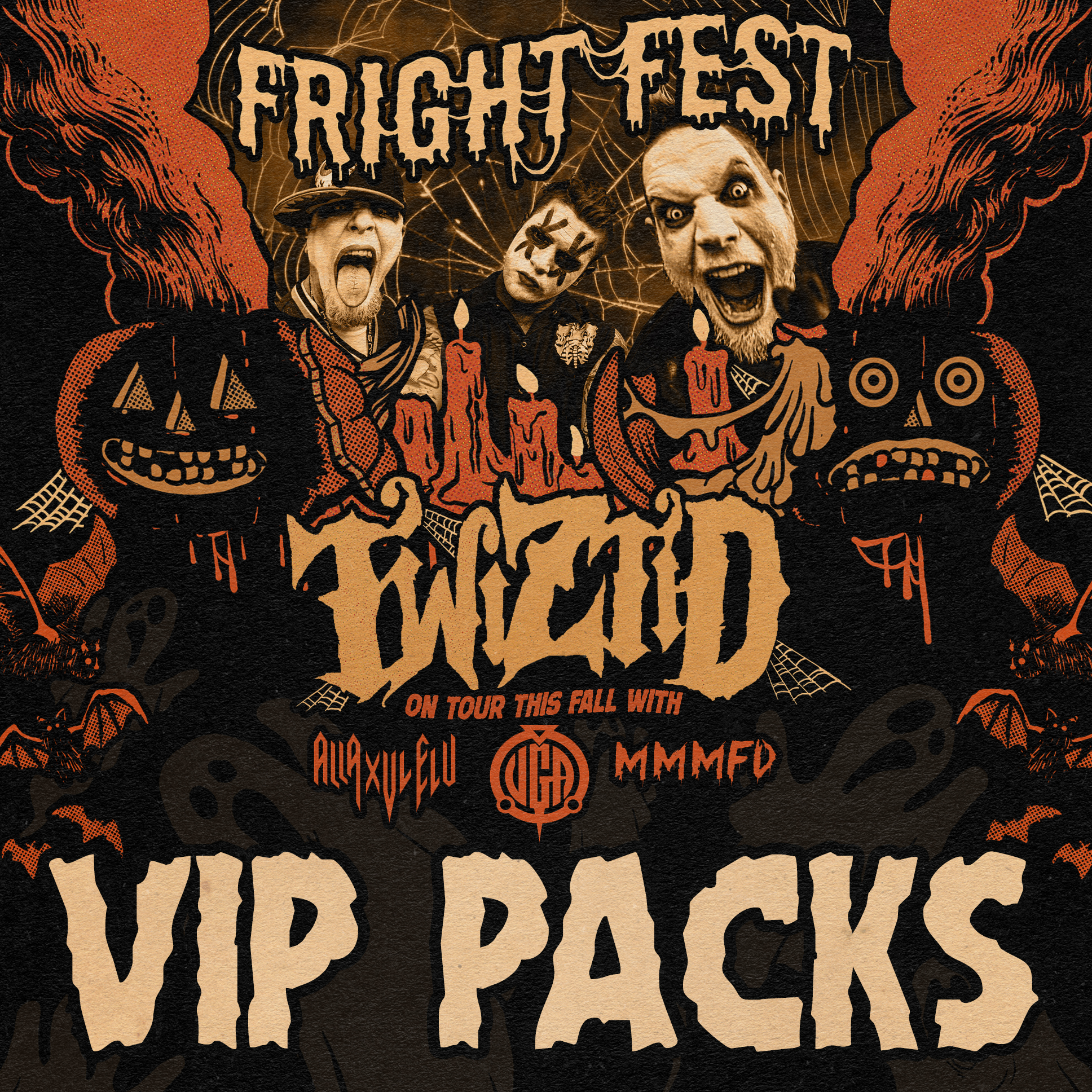Twiztid Fright Fest Tour 2018 Vip Package