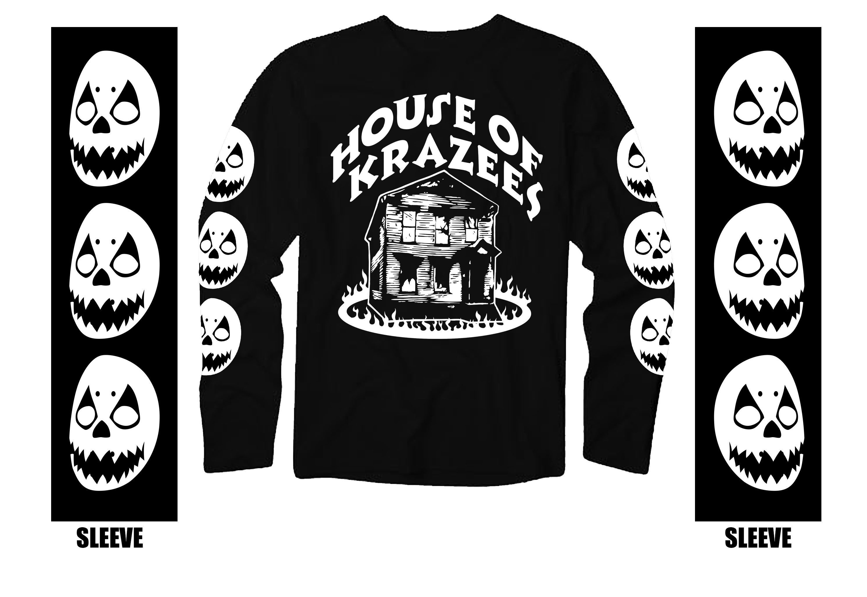 HOK Haunted House Throwback Long Sleeve