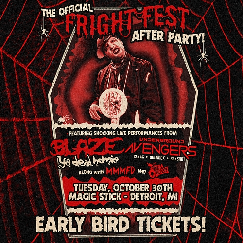 Fright Fest 2018 Detroit After Party - Early Bird Tickets