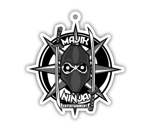 Majik Ninja Entertainment Die Cut Air Freshener