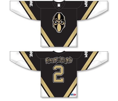 Attack Of The Ninjas 2 Hockey Jersey