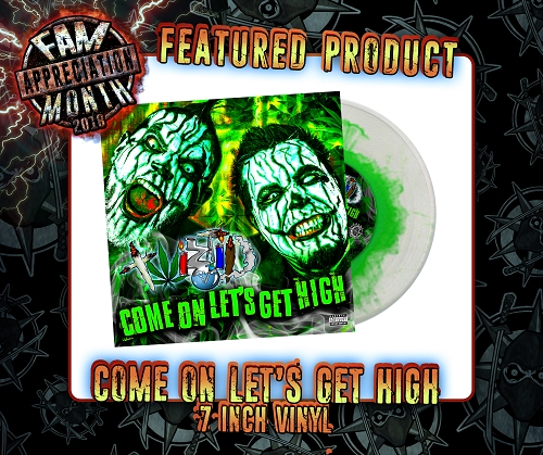 TWIZTID COME ON LETS GET HIGH 7 INCH VINYL