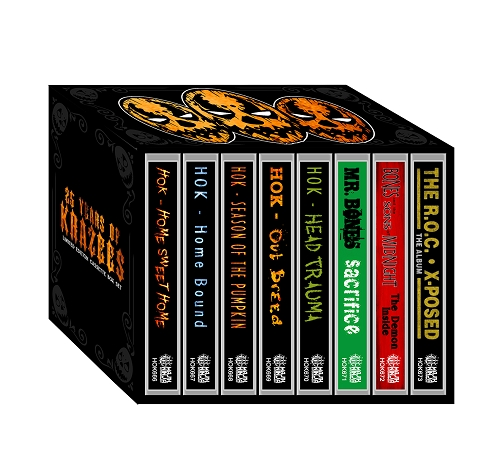 25 Years of Krazees Limited Edtion Cassette Box Set Pre Order