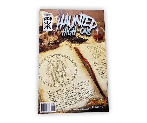 Haunted High-Ons Limited Edition Astronomicon Variant Cover