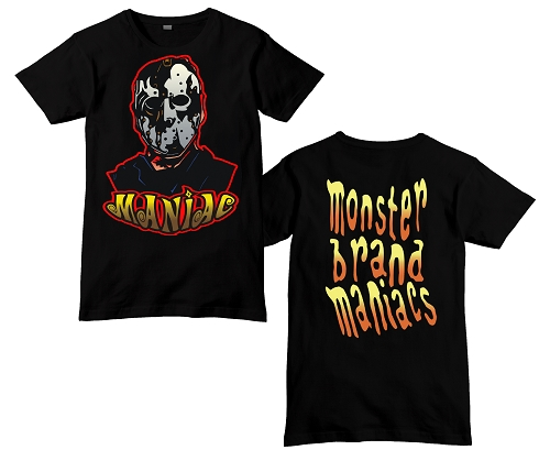 Monster Brand Maniacs 2018 Friday the 13th Maniac Shirt