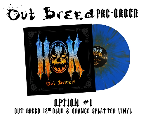 HOK Outbreed 12 Inch Vinyl Pre Order