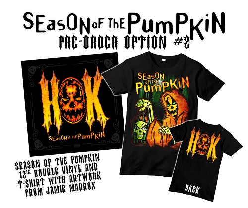 HOK Season Of The Pumpkin Double Vinyl Preorder Shirt Bundle #2