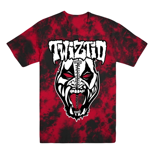 Twiztid Split Face Tie Dye Shirt