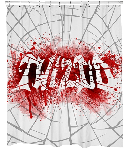 Twiztid Bloody Shower Curtain