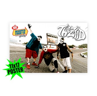 Twiztid 11x17 Warped Tour Poster