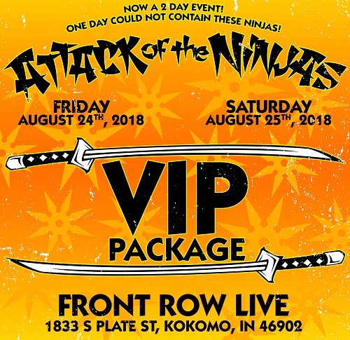 Attack Of The Ninjas 2018 Entire MNE FAMILY VIP EVENT