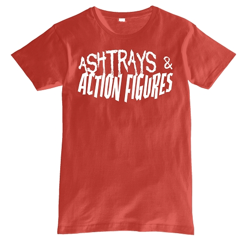 Pink Ashtrays & Action Figures Shirt