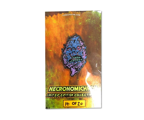 AXE Necronomichron Hat Pin Purple