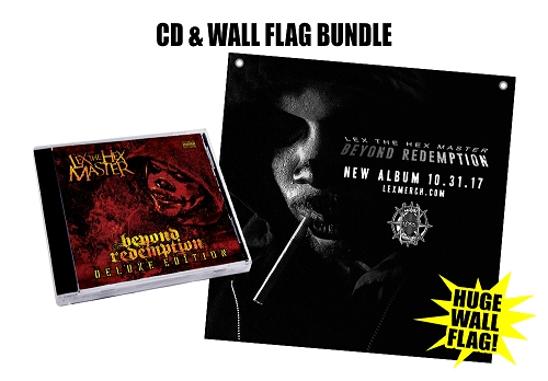 Lex The Hex Master Beyond Redemption Deluxe Edition 24x36 Flag Bundle