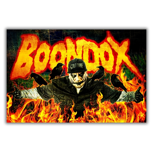 Boondox Burning Crows Poster