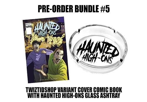 Twiztid's Haunted High-Ons Twiztidshop Variant Cover Comic Book Pre Order Ashtray Bundle #5