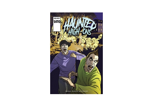 Twiztid's Haunted High-Ons Twiztidshop Variant Cover Comic Book Pre Order