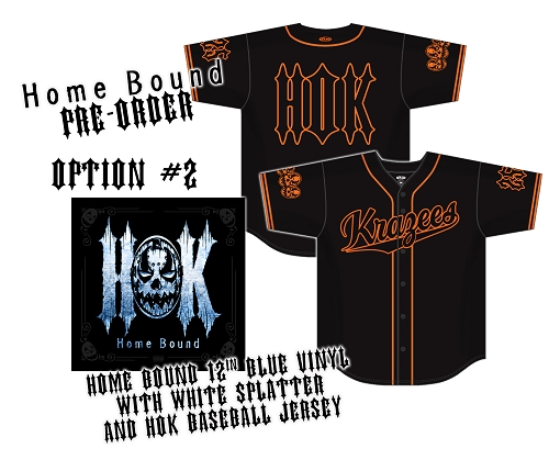 HOK Home Bound Vinyl and Embroidered Baseball Jersey Preorder Bundle #2