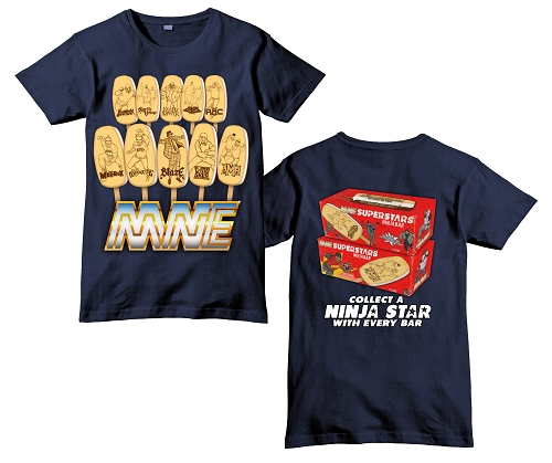 MNE Superstar Ninja Bar Navy Shirt