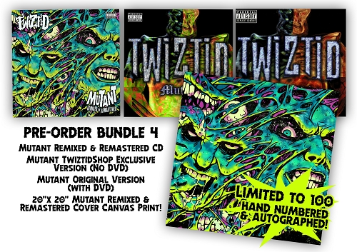 Mutant Remixed and Remastered Canvas Bundle 4