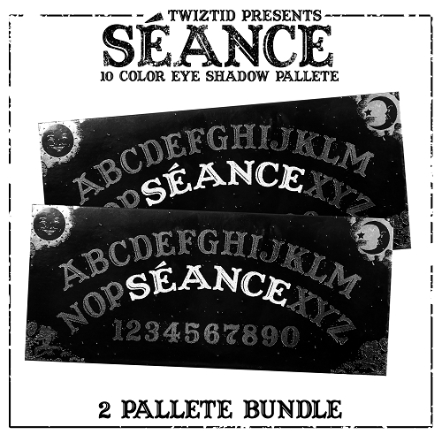 Seance by Twiztid Cosmetics 10 Color Eye Shadow Palette 2 Pack Bundle Pre Order #2