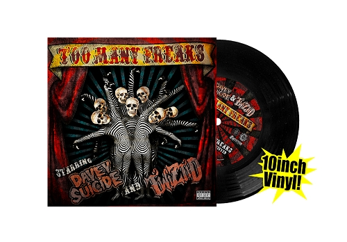 TOO MANY FREAKS 10 INCH VINYL