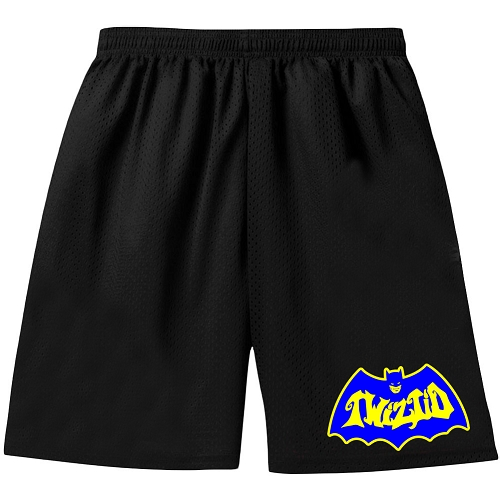 Twizitd Bat Logo Embroidered Shorts