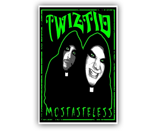 Twiztid Preachers Black Light Poster