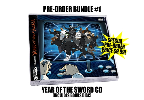 Twiztid Presents: Year Of The Sword Double Disc Pre Order CD Bundle #1