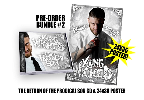 Young Wicked The Return Of The Prodigal Son Pre Order Poster Bundle #2