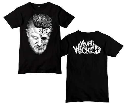 YOUNG WICKED SPLIT FACE SHIRT