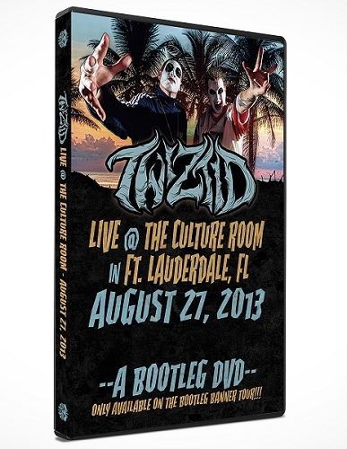 A Bootleg DVD Twiztid Live @ The Cultre Room