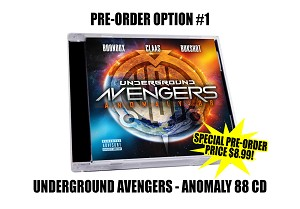 "Underground Avengers ""Anomaly 88"" CD Pre Order"
