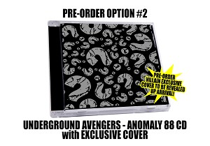 "Underground Avengers ""Anomaly 88"" Exclusive Villain Cover CD Pre Order #2"