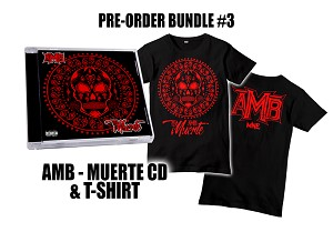 AMB Muerte CD and Shirt Pre Order Bundle #3