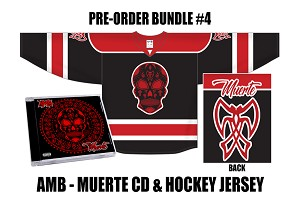 AMB Muerte CD and Jersey Pre Order Bundle #4