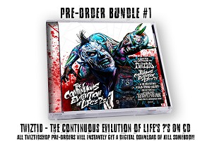 Twiztid The Continuous Evilution Of Life's ?'s CD