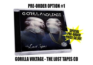 "Gorilla Voltage ""The Lost Tapes"" CD"
