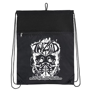 TWIZTID SKULL LUNGS DRAWSTRING BAG