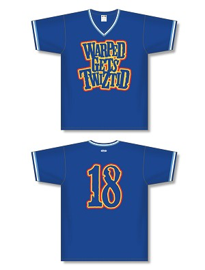 WARPED GETS TWIZTID PULLOVER BASEBALL JERSEY